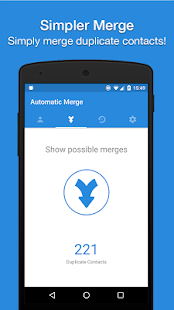 Merge Duplicate Contacts & Cleanup by Simpler Screenshot