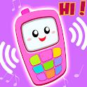 Pink Princess Baby Phone - Cute Baby Unicorn icon