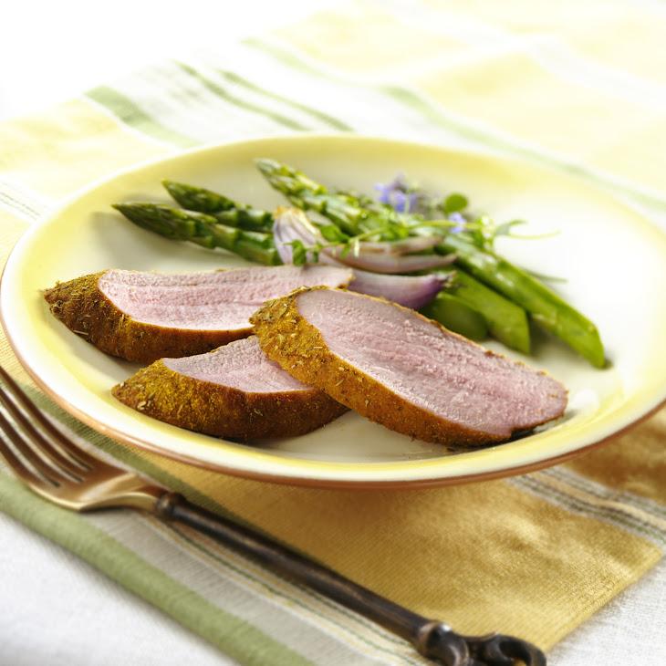 Roasted Pork Tenderloin with Oregano-Coriander Rub