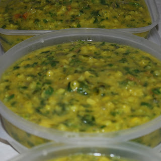 Split Mung Bean Curry.