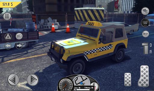 Real Taxi Sim 2018 3.1 screenshots 15