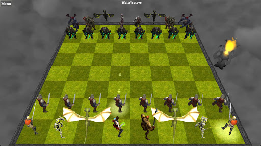 Chess 3D Animation : Real Battle Chess 3D Online Spil til Android screenshot