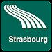 Strasbourg Map offline Icon