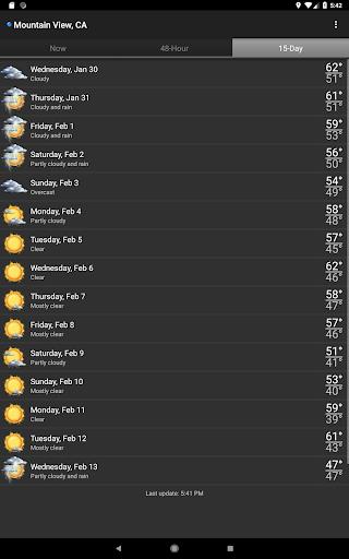 Palmary Weather screenshot 10