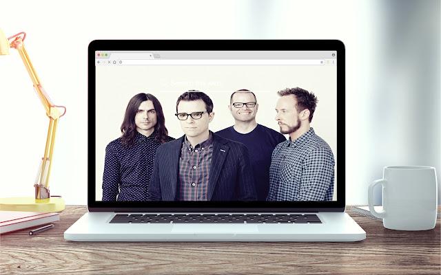 Weezer New Tab Music Theme