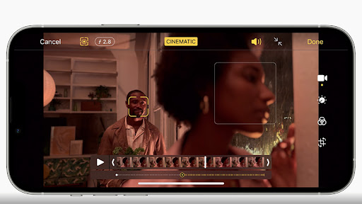 The iPhone 13 range is integrated with ProRes, a video codec used widely for TV ads and feature films.