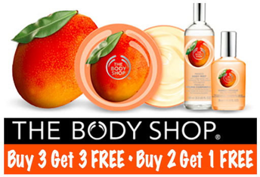 The Body Shop – Buy 3 Get 3 Fr...