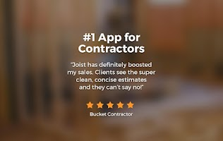 Screenshot of Contractor Estimate & Invoice