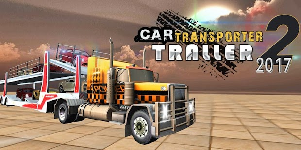 Car Transporter Trailer Truck 2017 - náhled