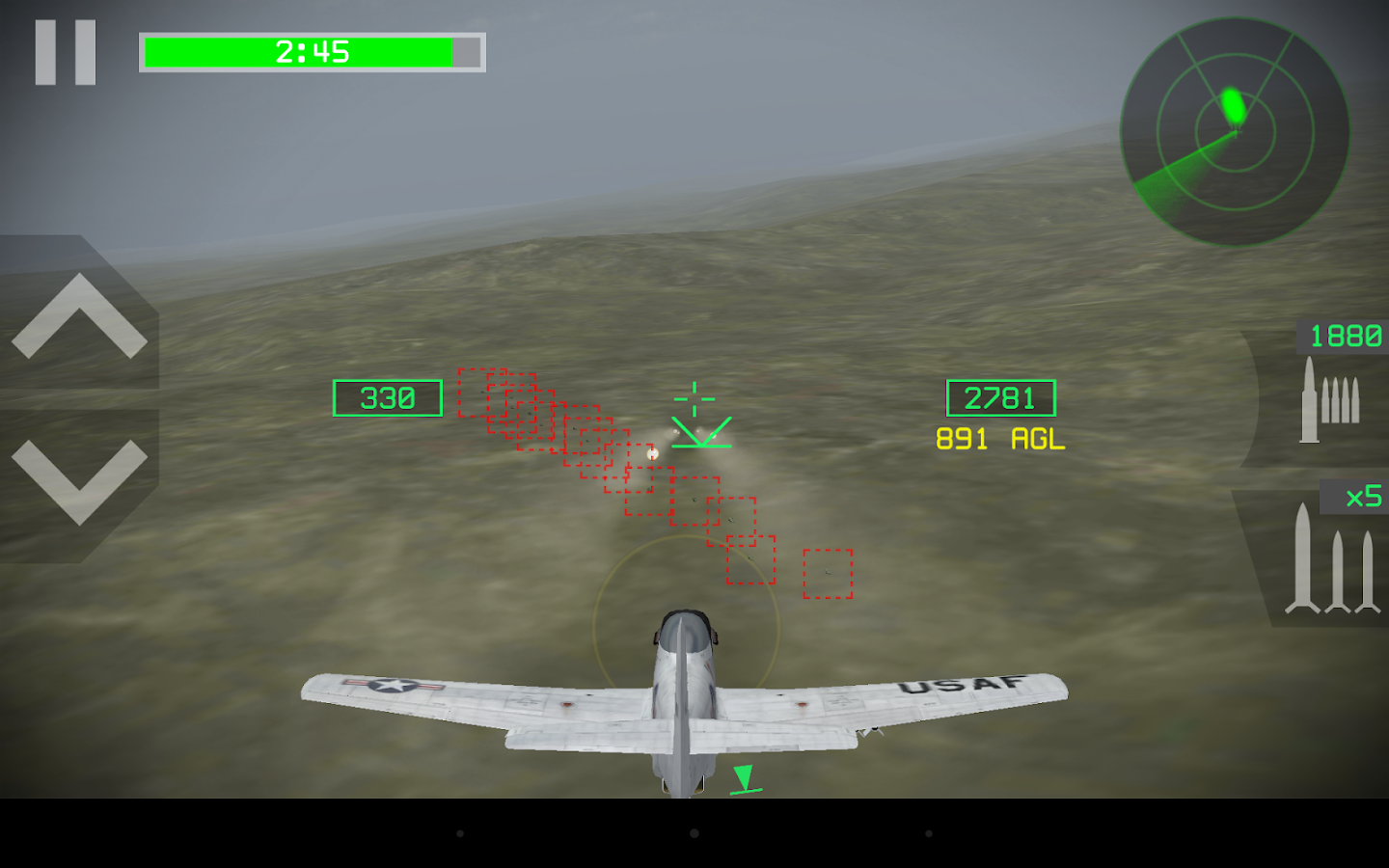 Strike Fighters Attack- screenshot