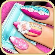 3D Nails Game Manicure Salon