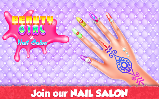 Beauty Girl at Nail Salon 1.0.3 screenshots 1
