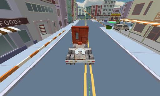 卡车司机停车模拟器