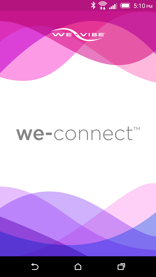 We-Connect: captura de pantalla