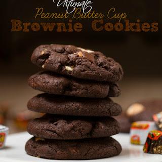 Ultimate Peanut Butter Cup Brownie Cookies