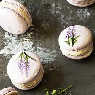 Lavender Macarons.
