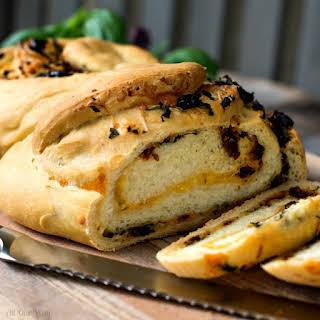 Herb Cheese Swirl Pane Italiano-Italian Bread.