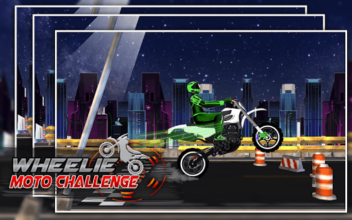 Wheelie Moto Challenge 1.0.2 screenshots 16