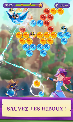 Bubble Witch 3 Saga fond d'écran 1