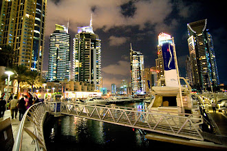 Photo: The Dubai Marina / Marina Walk. Just wonderful.