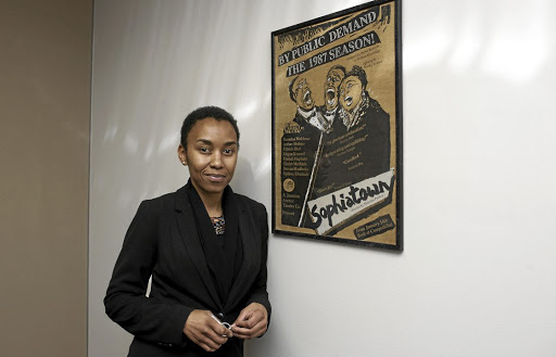 The hot seat: Nothando Migogo, new CEO of Samro, which is the subject of a forensic probe. Picture: MARTIN RHODES