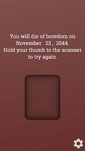Death Scanner Prank- screenshot thumbnail