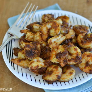 Sweet & Spicy Moroccan Shrimp.