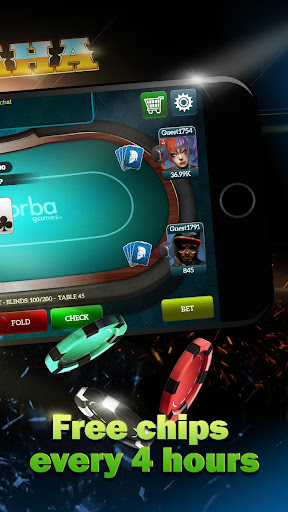 Live Poker Tablesu2013Texas holdem and Omaha  screenshots 4