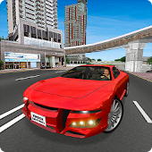 Traffic Driving School 3D Sim