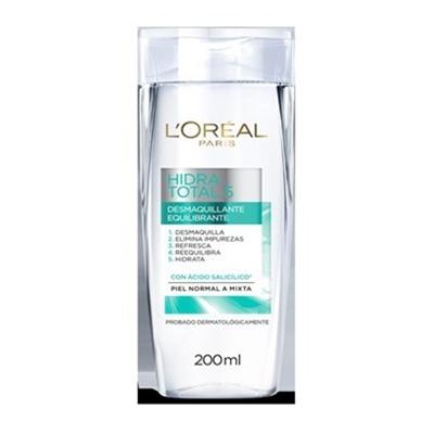 crema faciallorealhidra-total 5 desmaquillanteuillante equilibrante 200ml