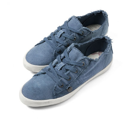 Down To Earth Low Sneakers Denim Blue - Odd Molly