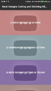 Neck Design Cutting and Stitching VIDEOs 2017 App - náhled