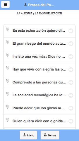 android Frases del Papa Francisco Screenshot 3