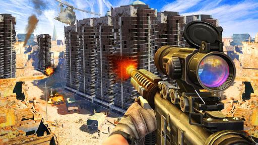 Télécharger gratuit Army Sniper Shooter 2018: Commando Gun War APK MOD 1