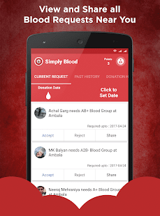 Simply Blood - Find Blood Donor - náhled