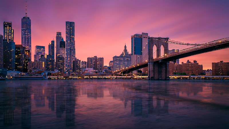 Manhattan sunset di Sergio Rapagnà