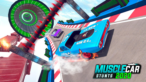Muscle Car Stunts 2020: Mega Ramp Stunt Car Games 1.2.1 screenshots 8