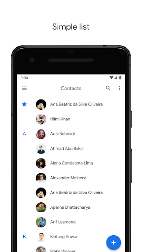 Contacts 3.1.6.218196352 screenshots 2