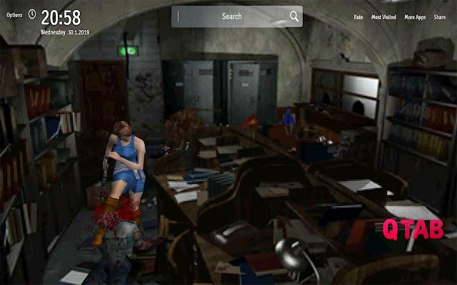 Resident Evil 3 Nemesis Wallpapers New Tab