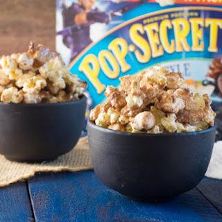 S'Mores Popcorn Movie Night Snacks.