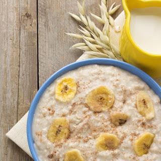 Eggnog Oatmeal Recipe