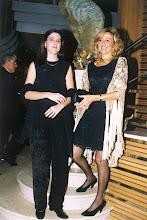 Photo: Rosa María, esposa de Amado Moreno, con su hija Patricia
