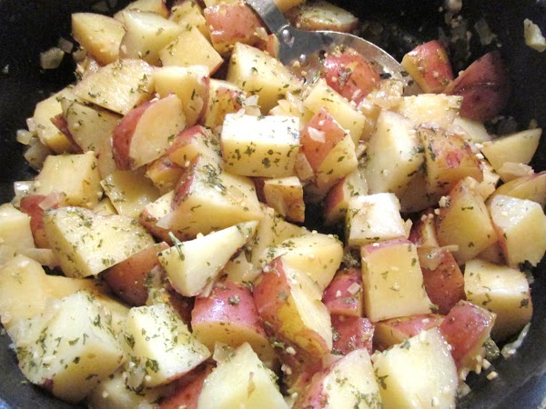 Parslied Potatoes Recipe