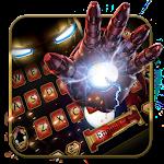 Robot cool&Tech laser guns metal keyboard Icon