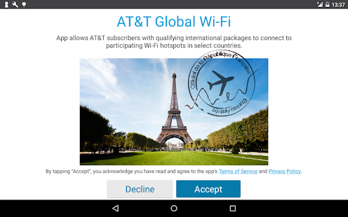 AT&T Global Wi-Fi- screenshot thumbnail