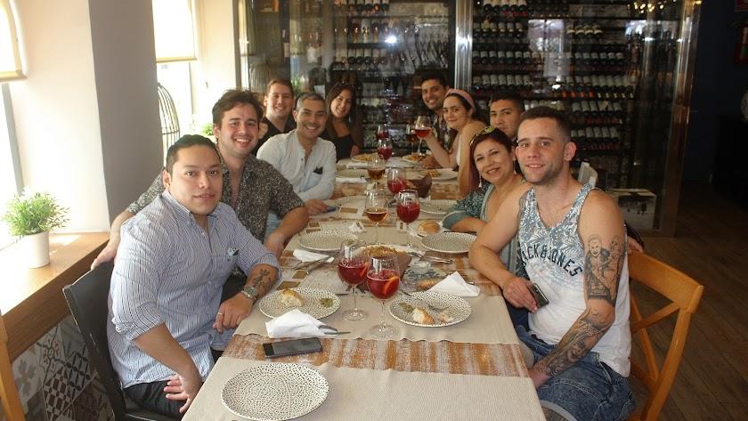 Foto tomada el pasado lunes en el interior de un local en la capital almeriense.