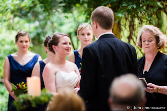 Photo: Wedding Ceremony Officiant, Minister -Twigs Tempietto - Greenville,SC - http://WeddingWoman.net