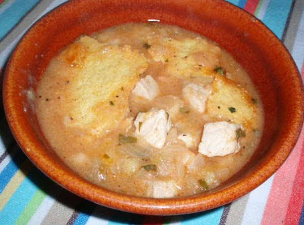 White Chili And Corn Bread Bake Recipe