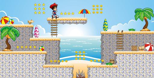 Super boy - Dino's World - adventure run  captures d'u00e9cran 2