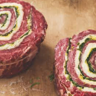 Skirt Steak Pinwheels